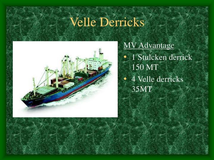 Velle Derricks