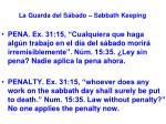 la guarda del s bado sabbath keeping11