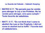 la guarda del s bado sabbath keeping12