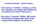 la guarda del s bado sabbath keeping14