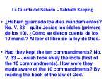 la guarda del s bado sabbath keeping35