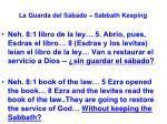 la guarda del s bado sabbath keeping37