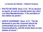la guarda del s bado sabbath keeping39