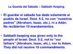la guarda del s bado sabbath keeping4
