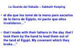 la guarda del s bado sabbath keeping41