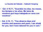 la guarda del s bado sabbath keeping55