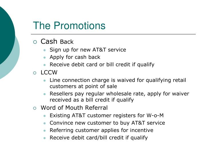 The Promotions