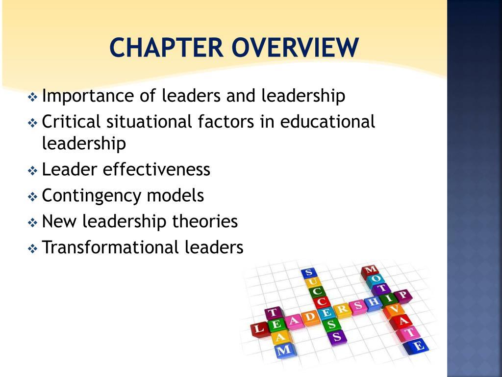 PPT - LEADERSHIP IN SCHOOLS PowerPoint Presentation - ID:4711205