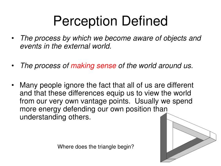 role perception definition