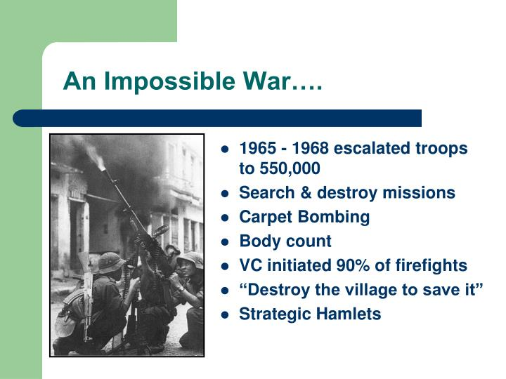 An Impossible War….