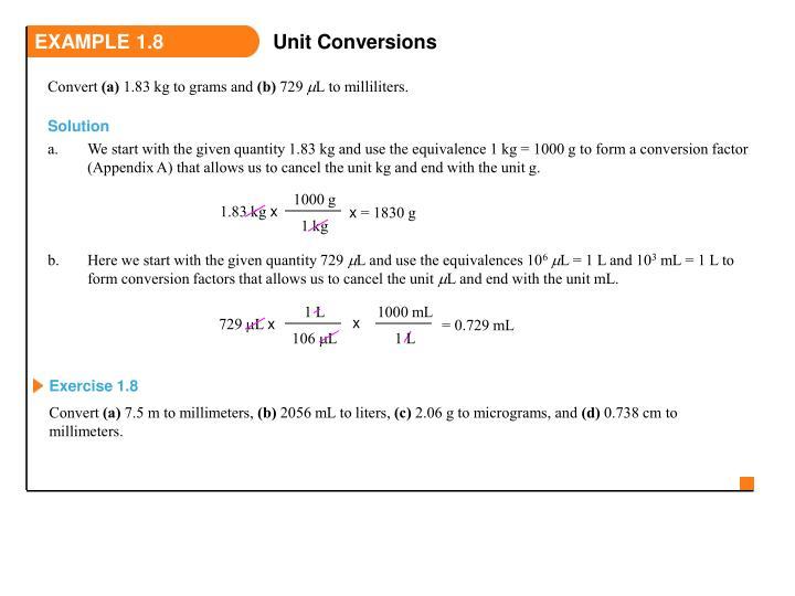 EXAMPLE 1.8