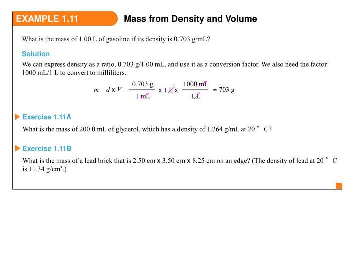 EXAMPLE 1.11