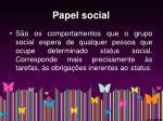 papel social