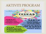 aktiviti program