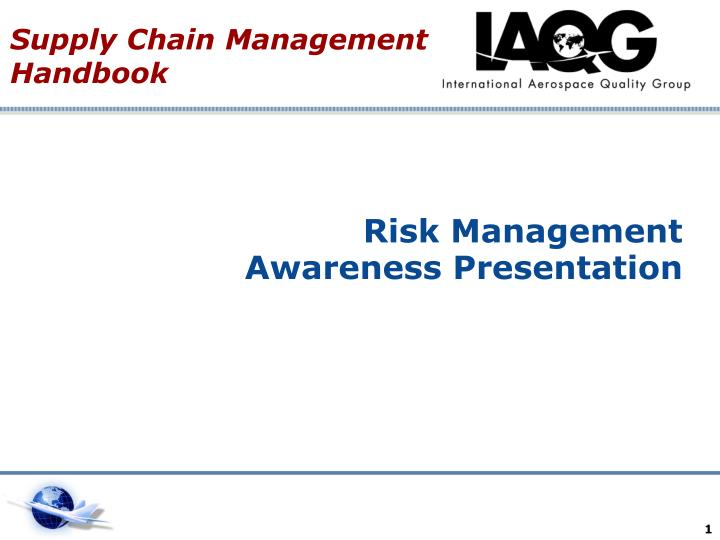 risk management awareness presentation n.