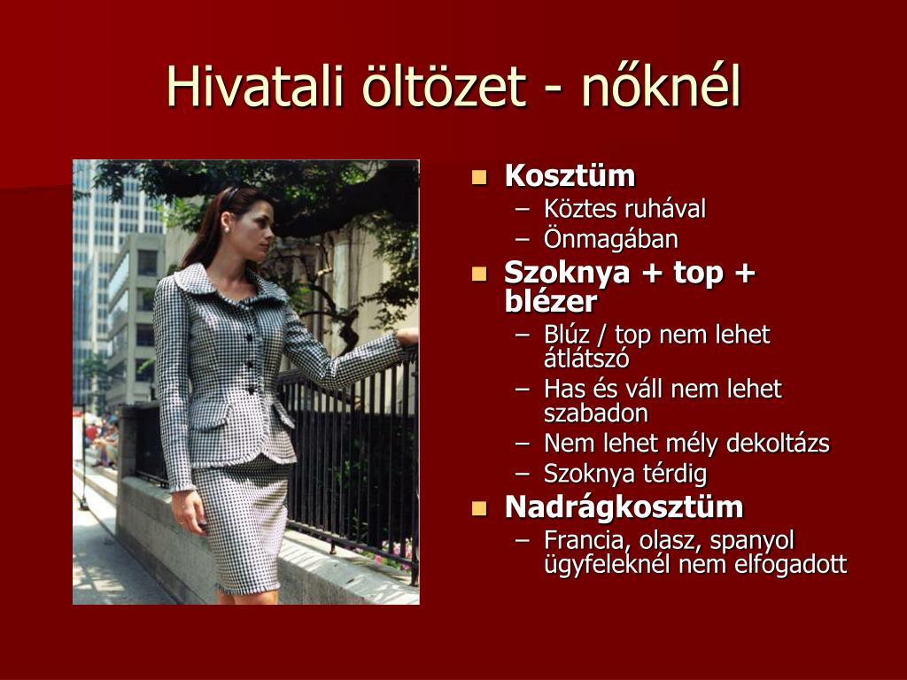 080f990e69 PPT - Öltözködés, öltözet PowerPoint Presentation - ID:4712639
