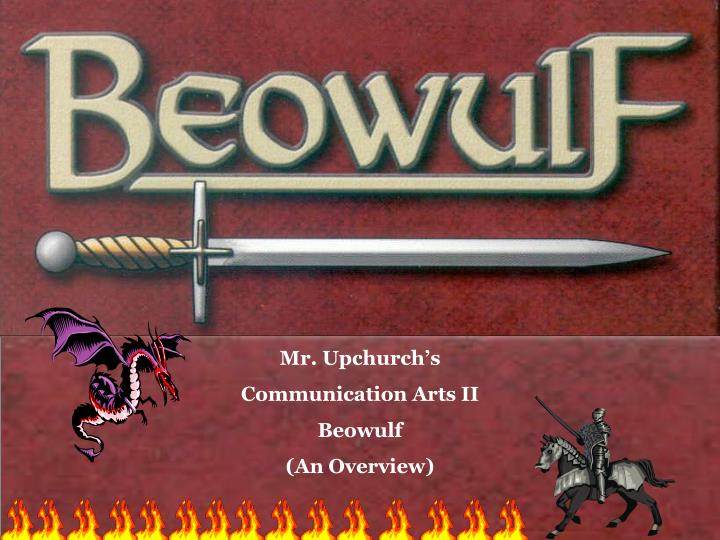 an analysis of the epic hero in the oldest surviving poem beowulf
