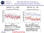 iasi airs dd sst comparisons accuracy depends on atmos correction