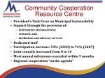 community cooperation resource centre