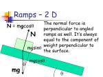 ramps 2 d