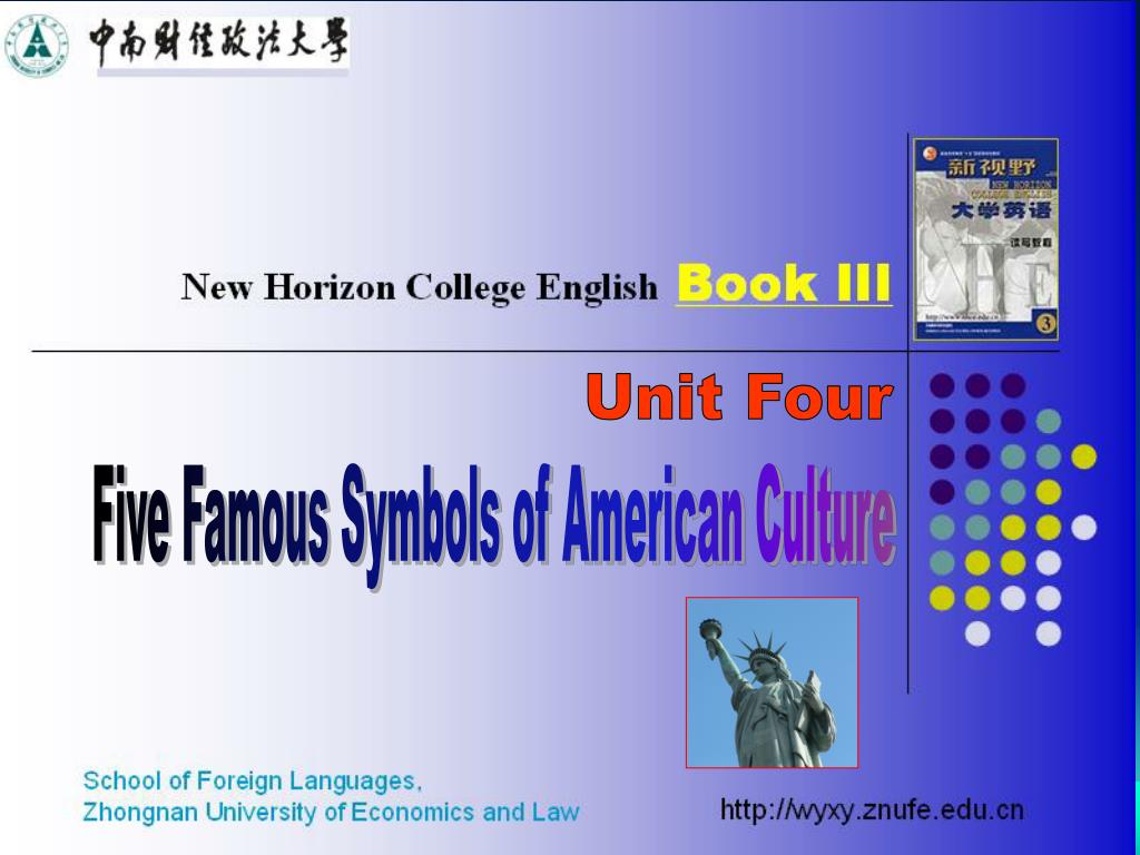 Ppt Five Famous Symbols Of American Culture Powerpoint