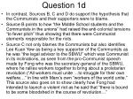 question 1d