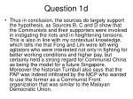 question 1d2