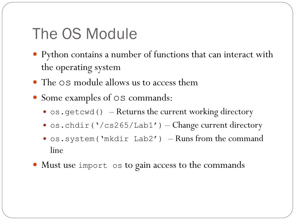 PPT - The Standard Library In Python PowerPoint Presentation - ID