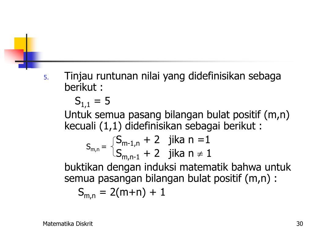 PPT - Induksi Matematika PowerPoint Presentation, free ...
