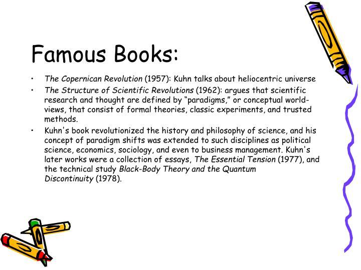 Famous Books: