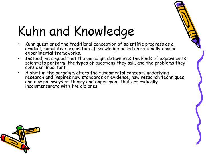 Kuhn and Knowledge