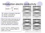 introduction electric conductivity