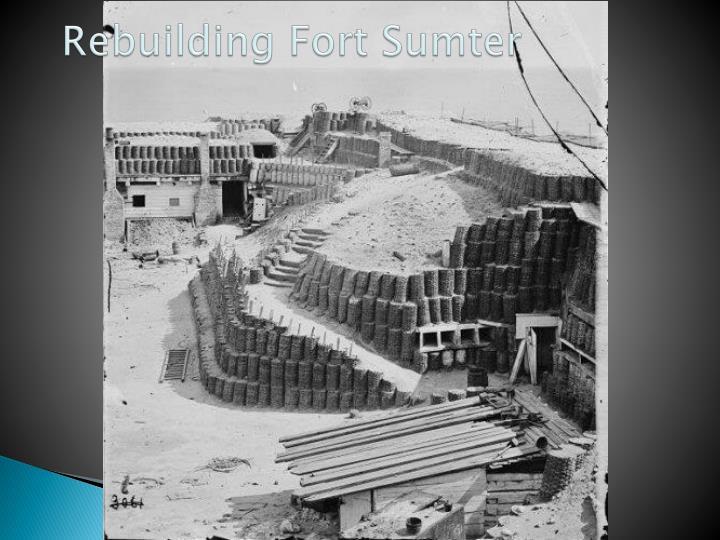 Rebuilding Fort Sumter