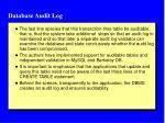 database audit log2