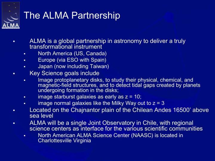 The alma partnership