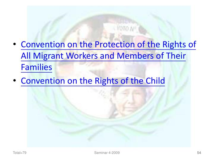 Convention on the Protection of the Rights of All Migrant Workers and Members of Their Families