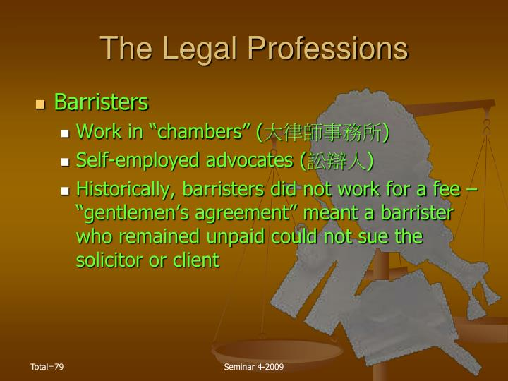 The Legal Professions