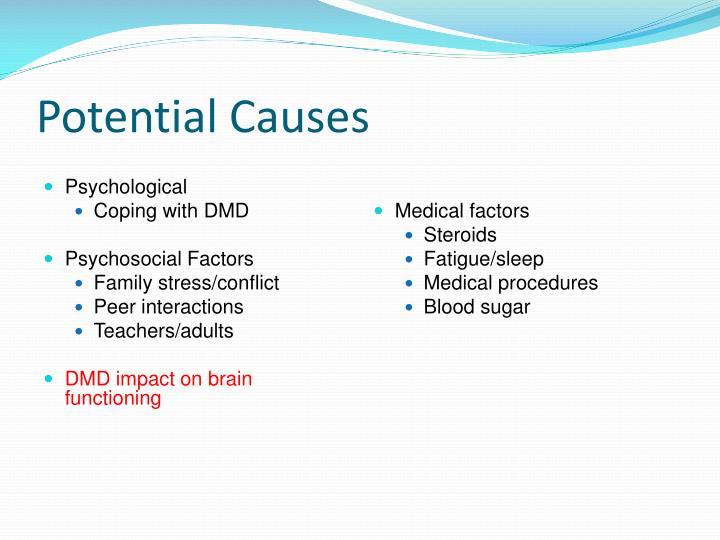Potential Causes