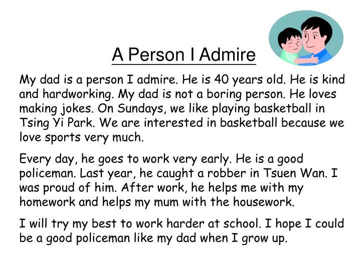 person i admire most