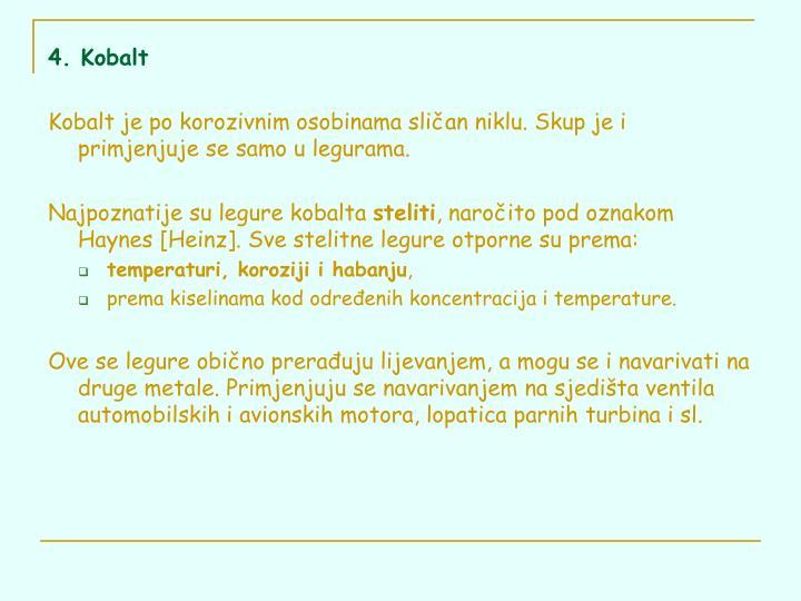 4. Kobalt