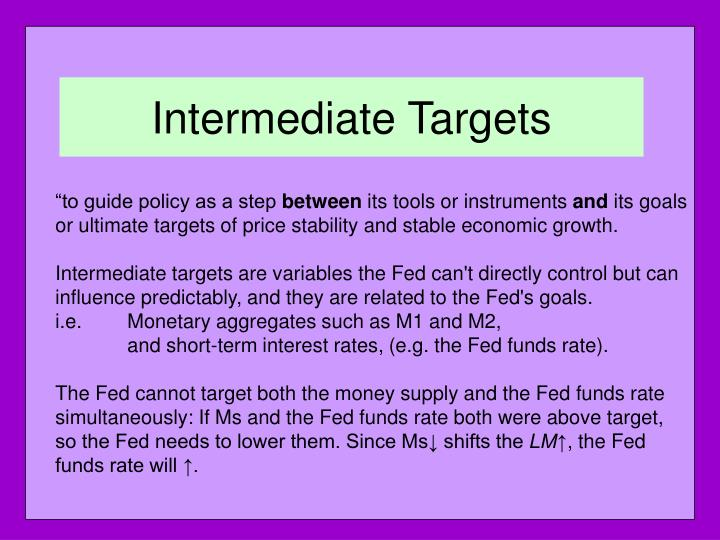 Intermediate Targets