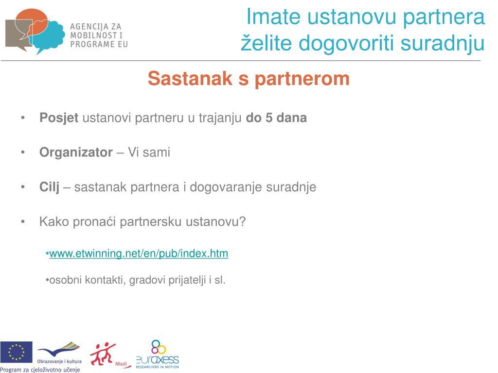 partnerske programe za pronalaženje partnera
