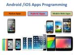 android ios apps programming