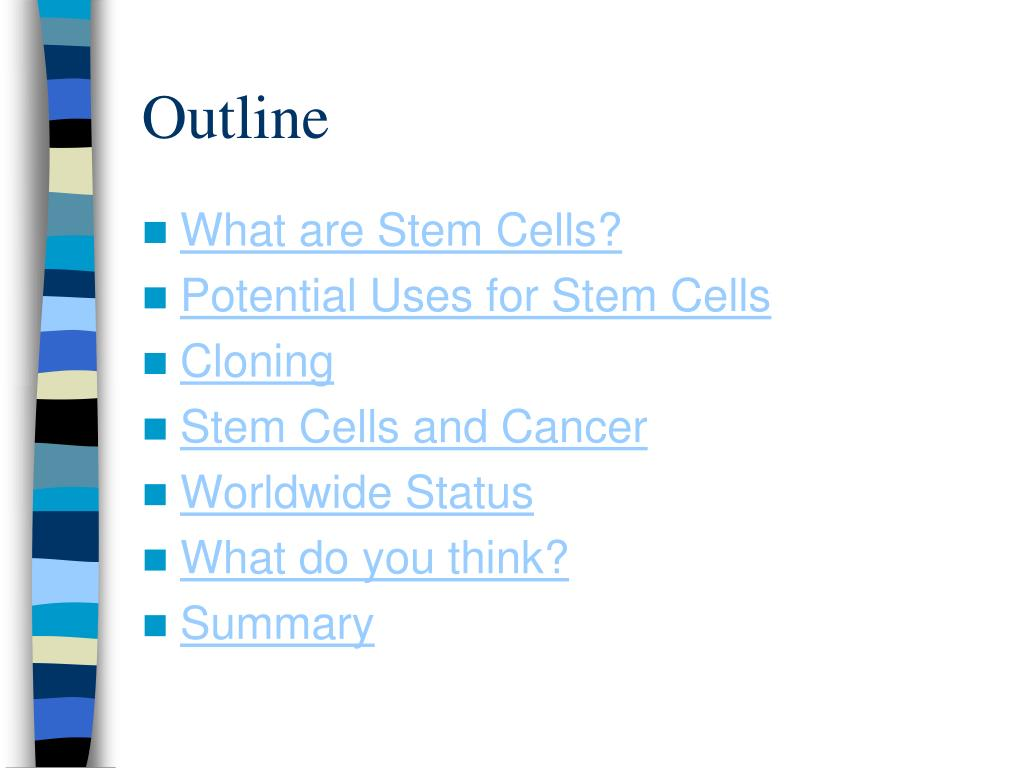 PPT - Stem Cell Research Overview PowerPoint Presentation