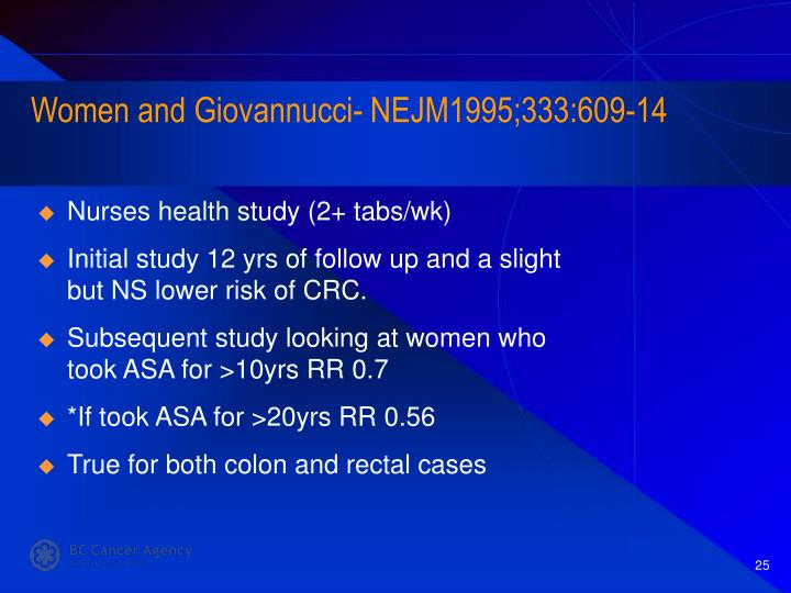 Women and Giovannucci- NEJM1995;333:609-14