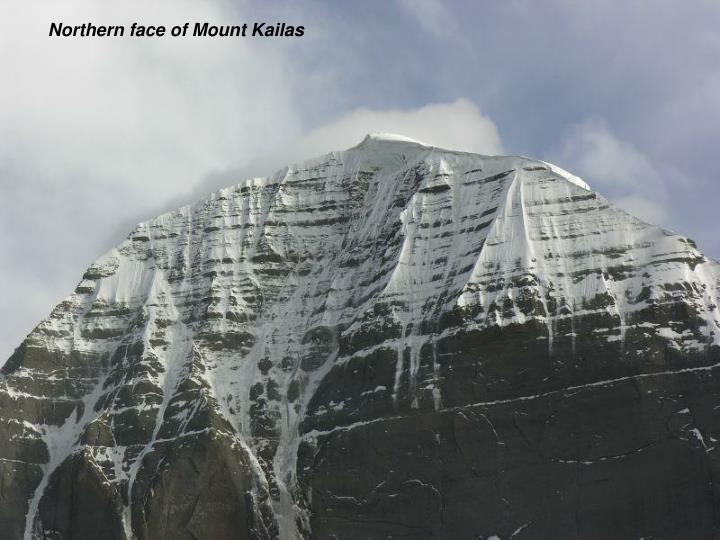 Northern face of Mount Kailas