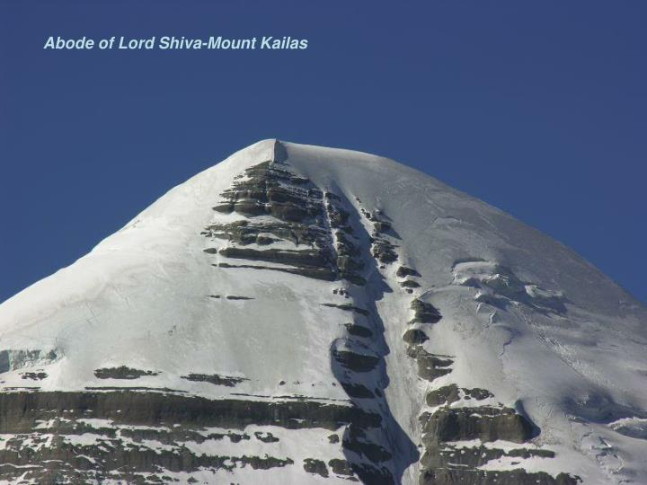 Abode of Lord Shiva-Mount Kailas