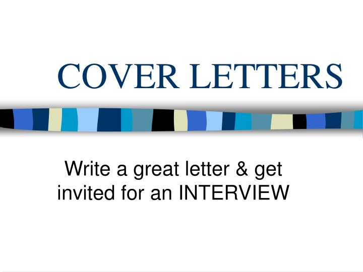 cover letters n.