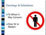 greetings salutations1