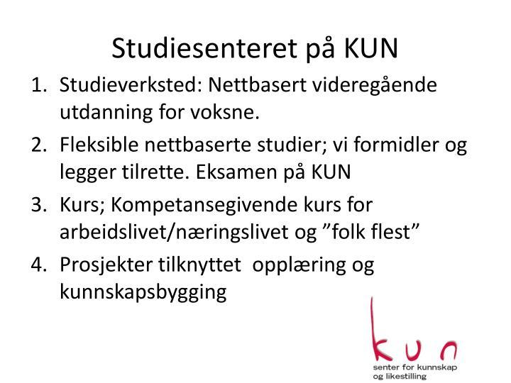 Studiesenteret på KUN